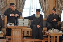 На приему у наместника Ватопедского монастыря архимандрита Ефрема