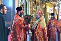 День тезоименитства о. Георгия Гуторова - настоятеля Тихвинского храма