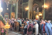 Молебен перед началом учебного года Детской Воскресной школы