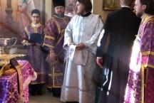 Рукоположение в сан иерея диакона Николая Гуторова
