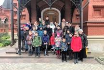 Паломническая поездка детской Воскресной школы