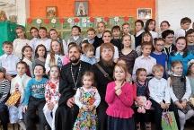 Пасхальный праздник в детской Воскресной школе.