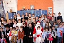 Праздник Рождества Христова в детской Воскресной школе нашего храма