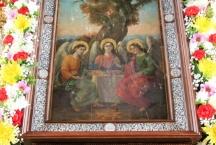 Праздник Троицы в Тихвинском храме