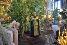 Праздник Троицы Живоначальной в Тихвинском храме