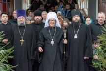 Предстоятель Японской Автономной Православной Церкви своершил Божественную литургию в нашем храме