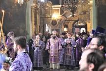 Престольный праздник. Преподобный Алексий — человек Божий. Соборное архиерейское Богослужение