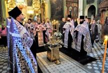 Престольный праздник в честь преподобного Алексия человека Божия. Всенощное бдение