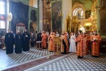 Венчание в Тихвинском храме