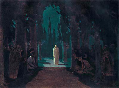 куинджи христос в гефсиманском саду