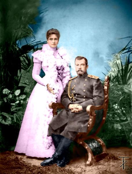 И-долог...--Иператор-Николай--Александр.-и-императрица-Александра-Фед