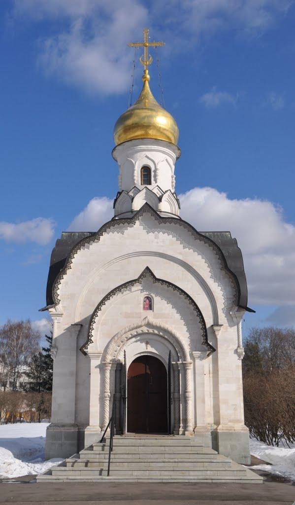 Храм свт. Василия зимой